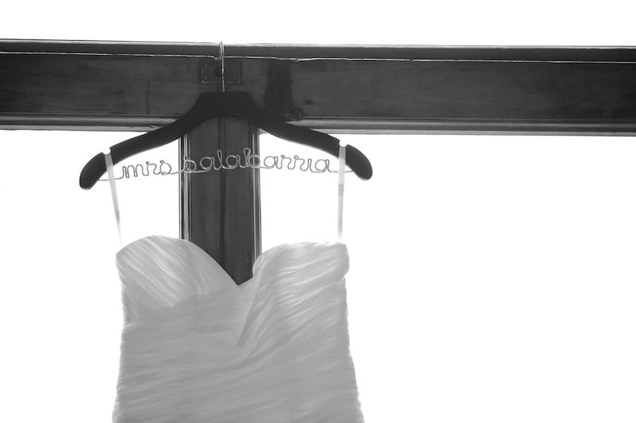 Mrs Wedding Dress Hanger | Getting Ready Wedding Day Details