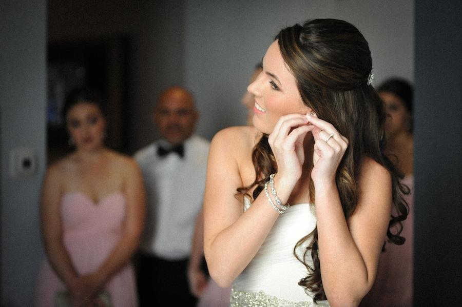Bride Getting Dressed | Getting Ready Wedding Day Details