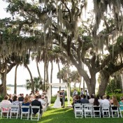Outdoor Sarasota Wedding Ceremony | The Bay Preserve at Osprey