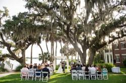 Outdoor Sarasota Wedding Ceremony | The Bay Preserve at Osprey