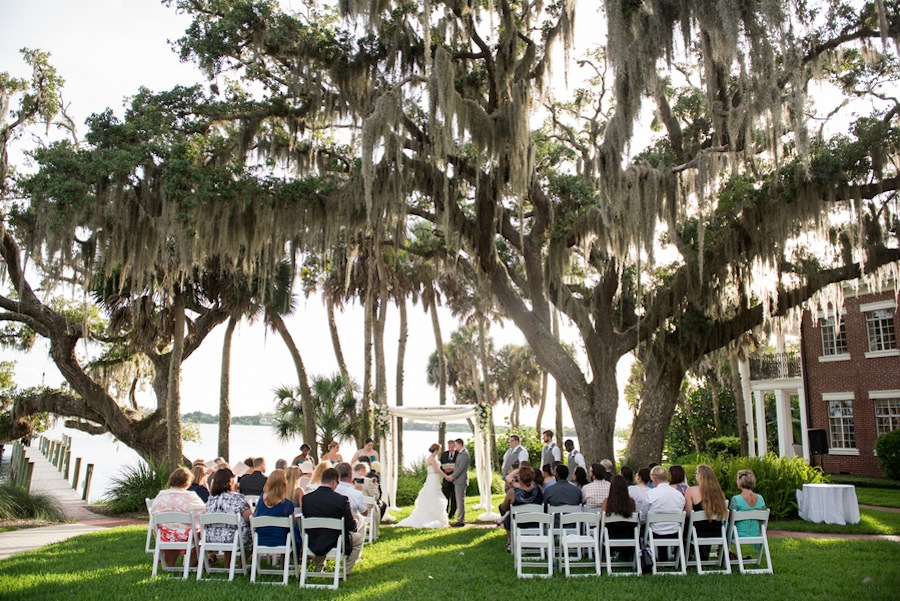 Elegant Garden Sarasota Destination Wedding The Bay