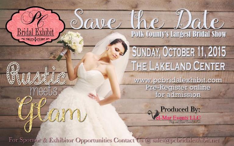 Polk County Bridal Exhibit at The Lakeland Center | Sunday, October 11, 2015