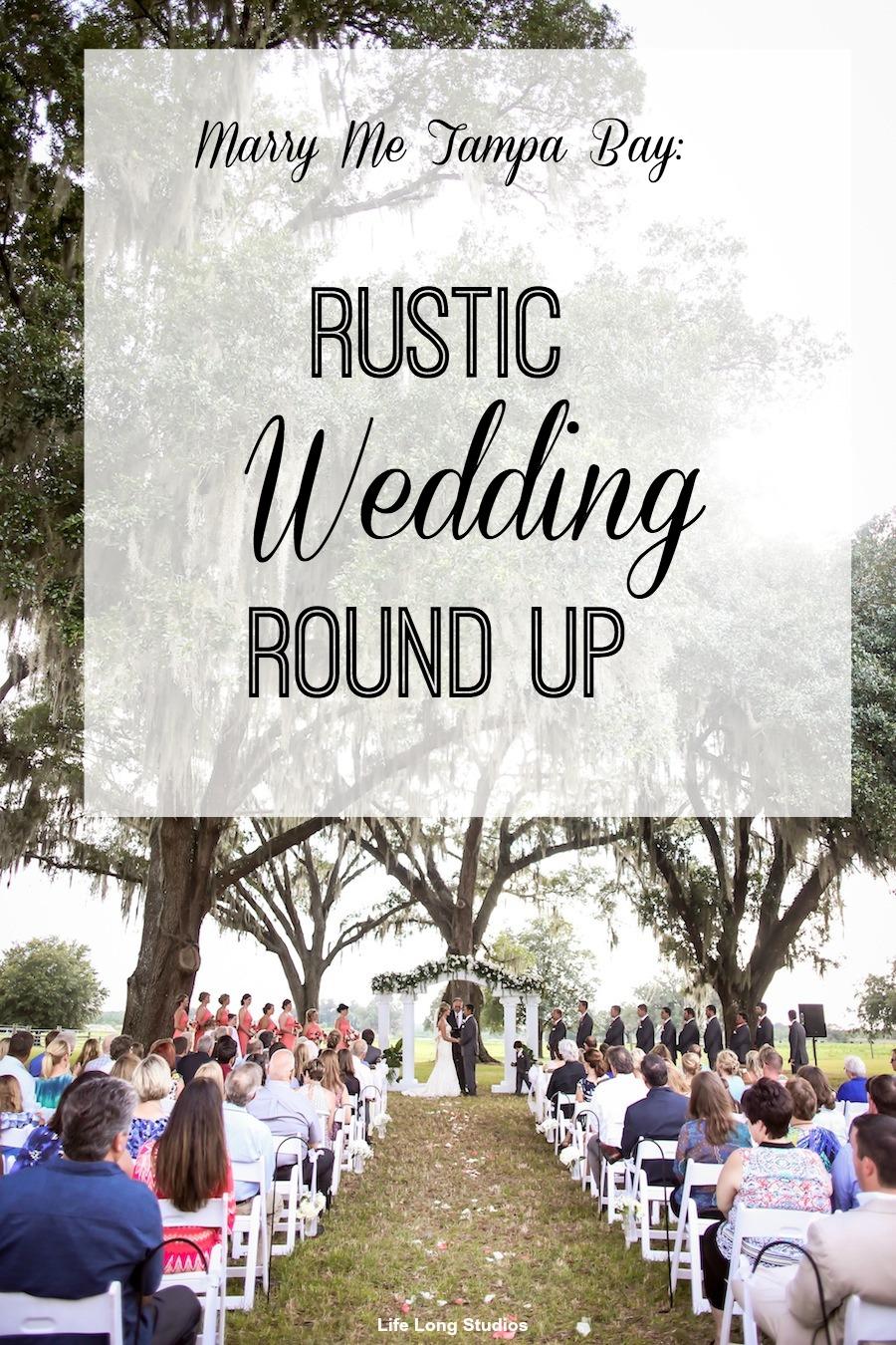 Rustic Tampa Bay Weddings