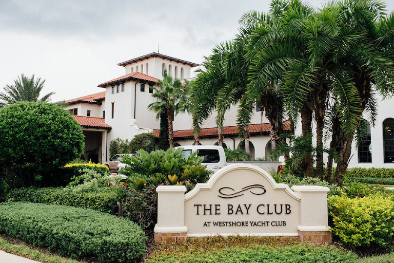 South Tampa Waterfront Wedding Venue | The Bay Club at Westshore Yacht Club