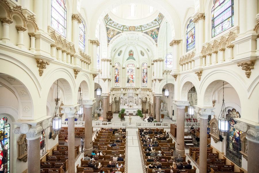 Tampa Wedding Ceremony Venue Sacred Heart Catholic Church | Tampa Wedding Photographer Rad Red Creative