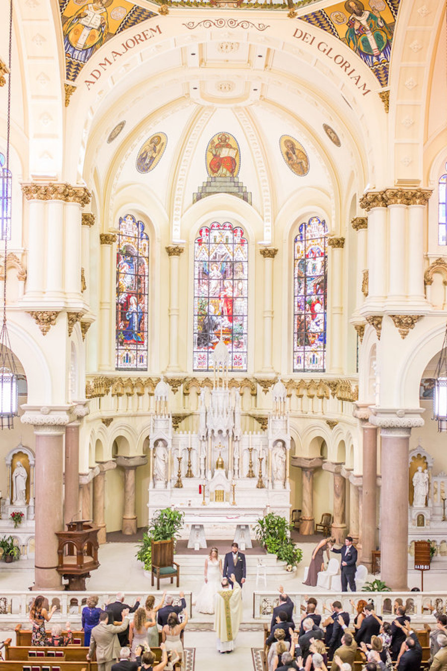 Tampa Ceremony Venue Sacred Heart Catholic Church