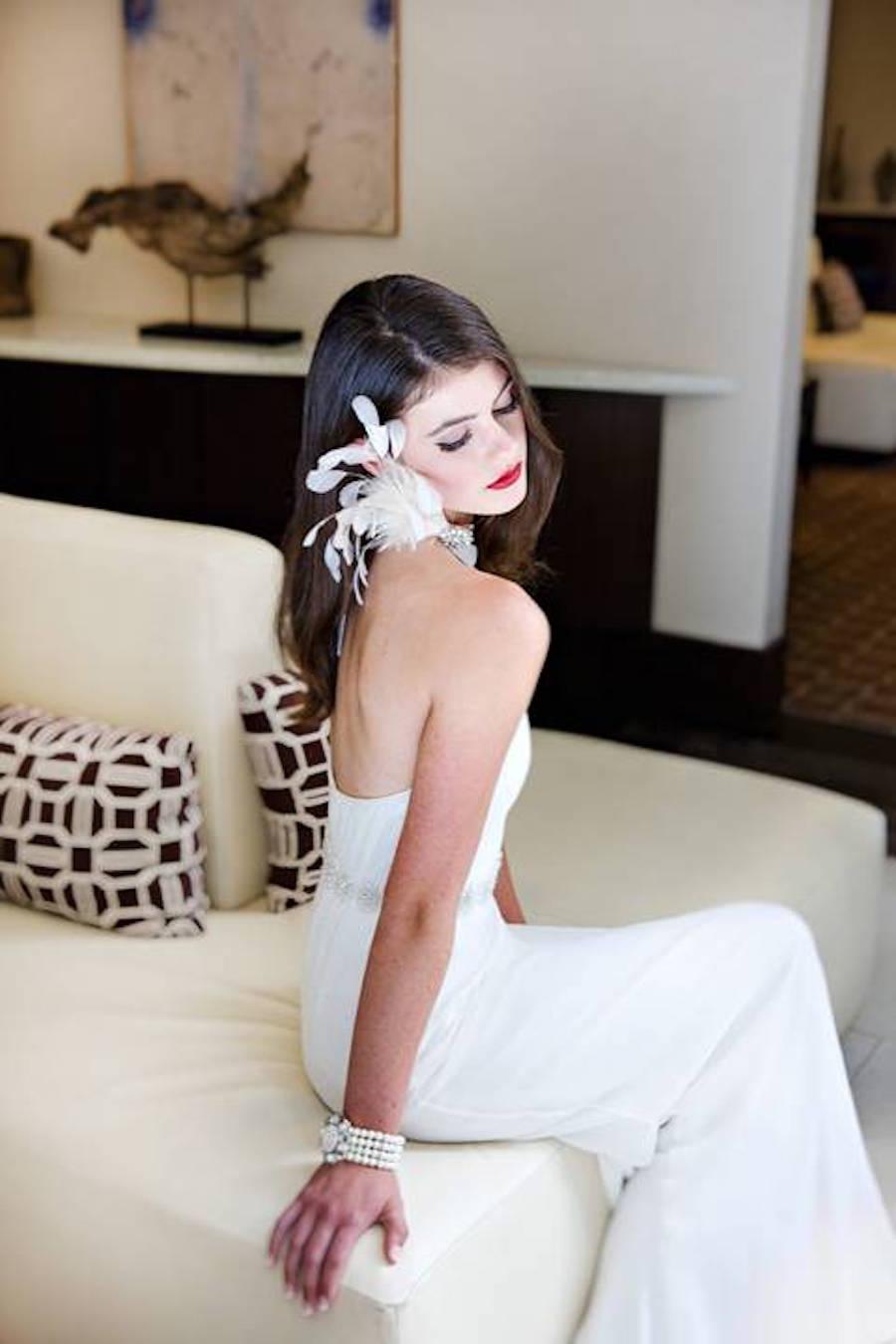 Bride Wedding Portrait   Modern Tampa Wedding Photographer Djamel Photography