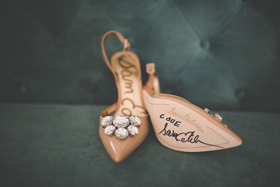 e850e397e Bridal Sam Edelman Autographed Wedding Shoes - Marry Me Tampa Bay ...