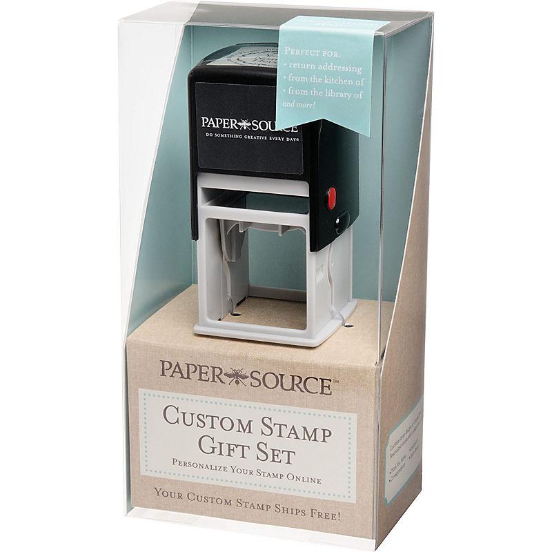 PaperSource Custom Wedding Return Address Stamp