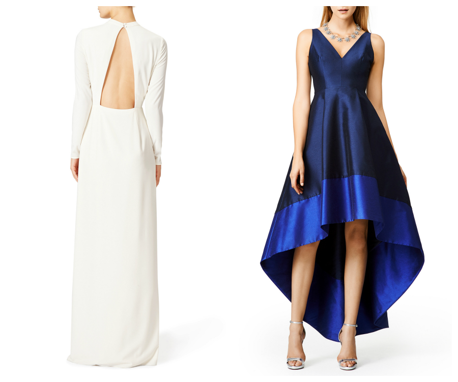 Rent the Runway Christmas Party Dresses Gowns