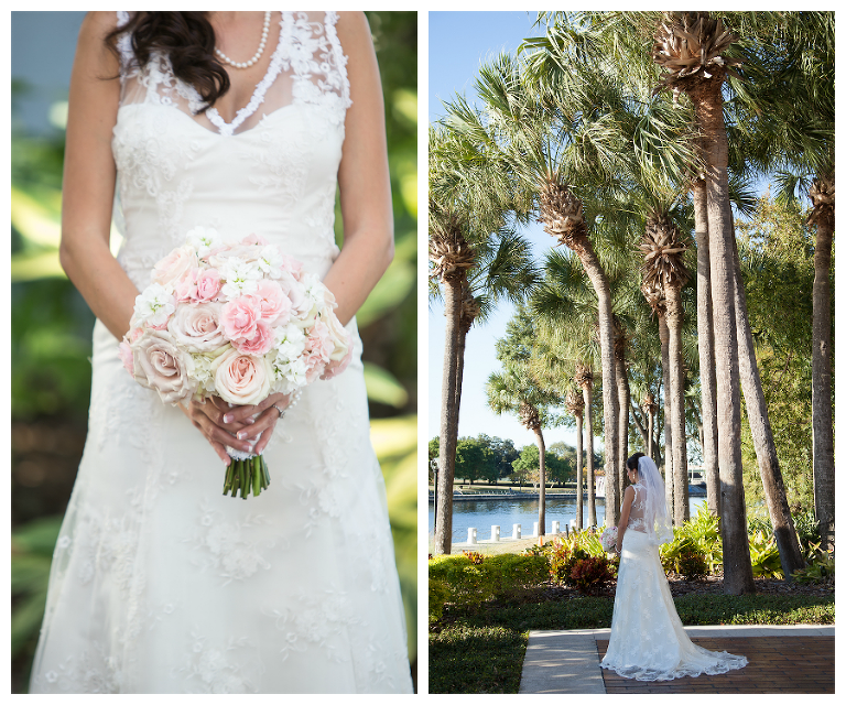 Wedding Gowns Tampa: Pink And Gold Downtown Tampa Wedding
