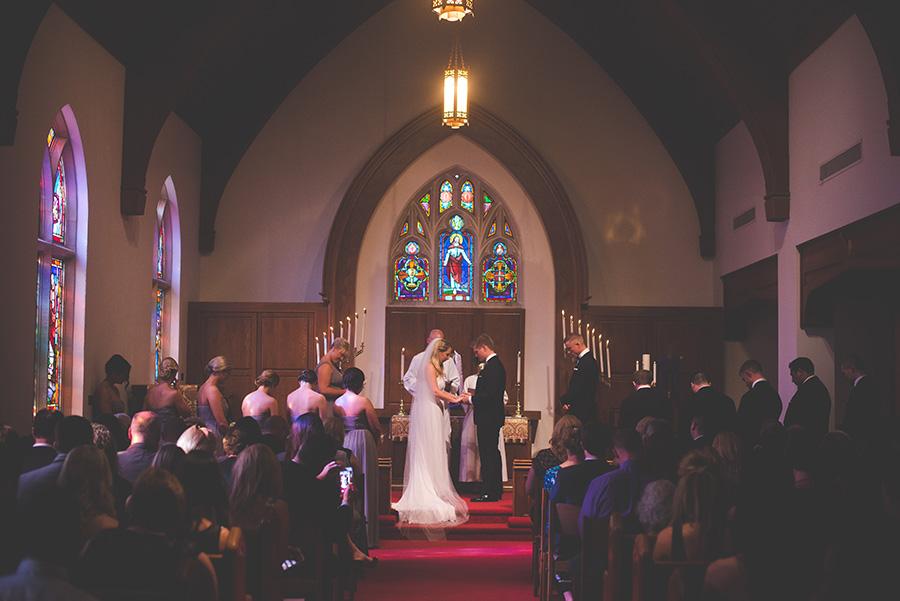 Wedding Ceremony Vow and Ring Exchange   Tampa Wedding Ceremony Venue Hyde Park Methodist Church