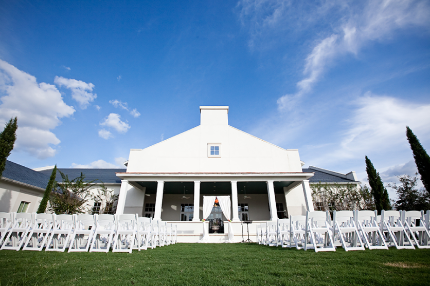 Outdoor Tampa Bay Garden Wedding Venue Ceremony | The Palmetto Club at Fishhawk Ranch