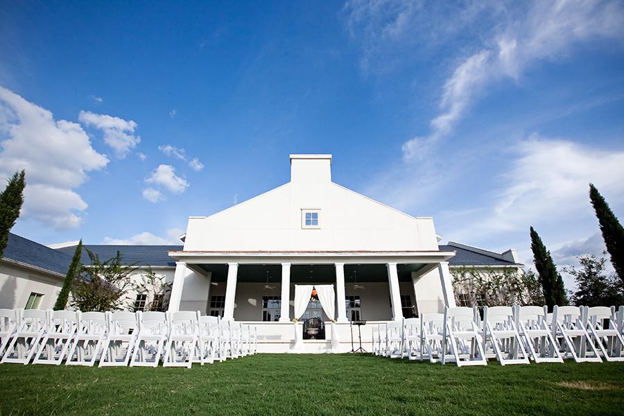 Outdoor Tampa Bay Garden Wedding Venue Ceremony | The Palmetto Club at Fishhawk Ranch