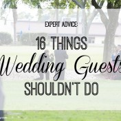 Expert Advice: 16 Things Wedding Guests Shouldn