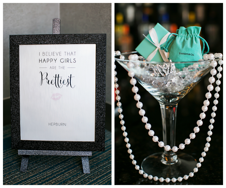 Tiffany and Co. Bridal Jewelry and Audrey Hepburn Sign