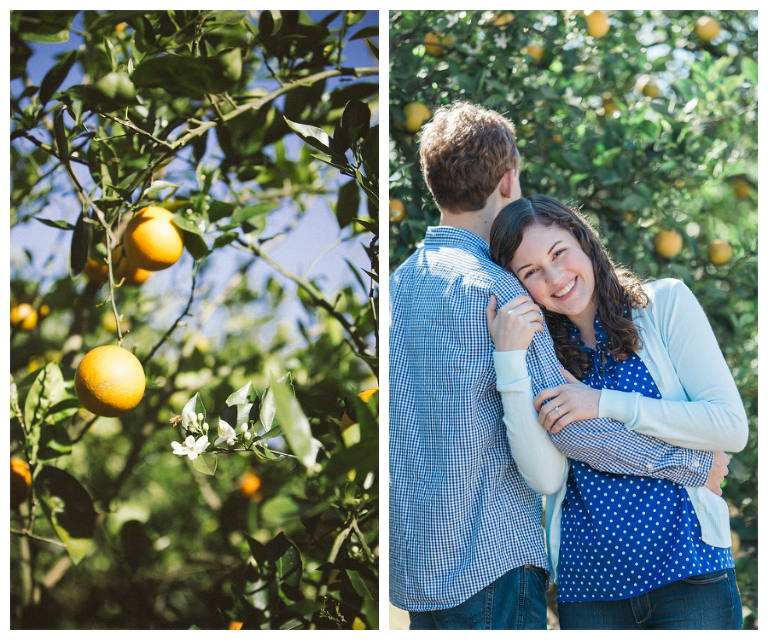 Tampa Engagement Session At Orange Grove