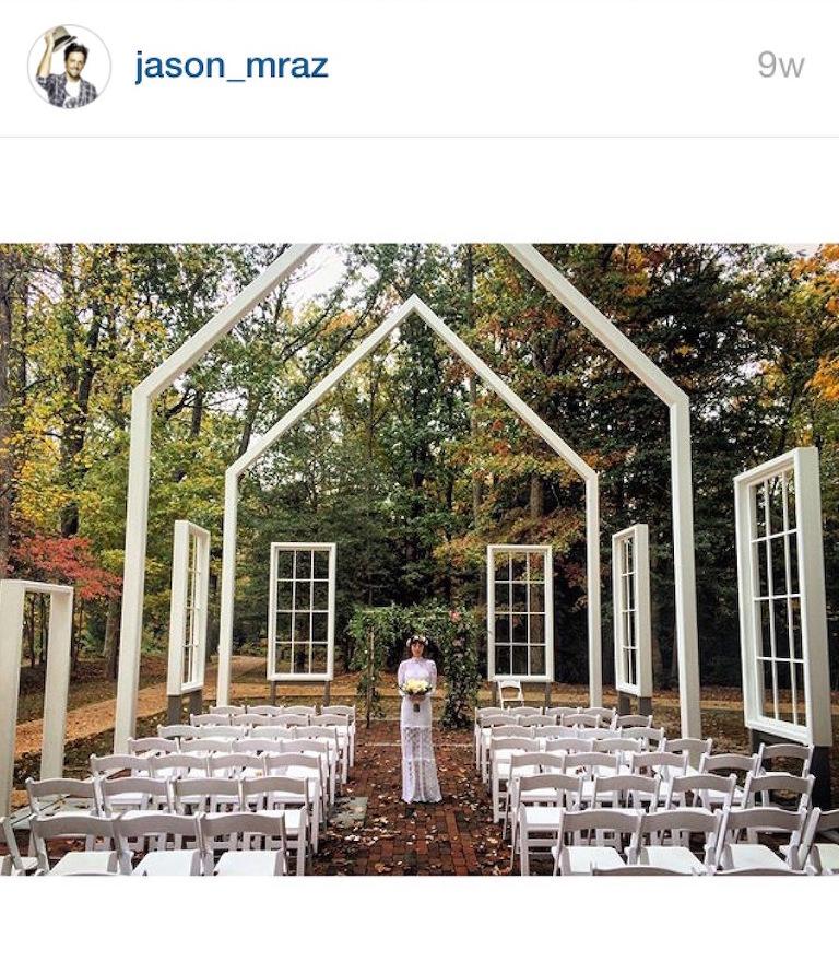 Jason Mraz Wedding Songs: Best Of Celebrity Weddings 2015