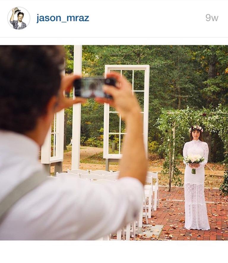 Jason Mraz and Christina Carano Celebrity Wedding