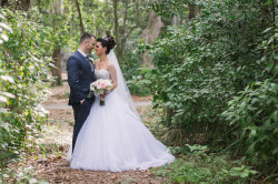 Bride & Groom Wedding Portrait at Clearwater Venue Countryside Country Club