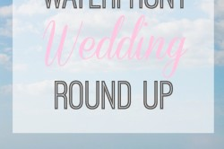 Waterfront Weddings | Tampa Bay Wedding Round Up