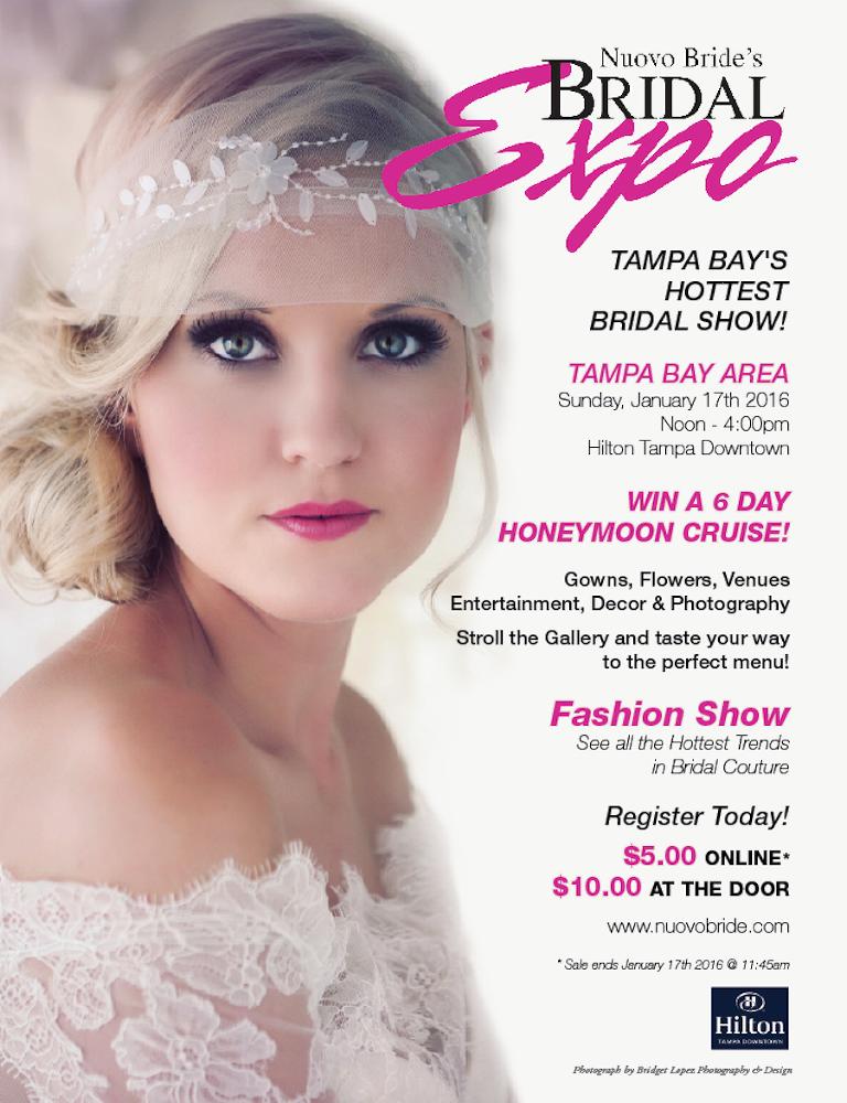 Tampa Bridal Show, Jan. 17, 2016 | Nuovo Bride\'s Bridal Expo