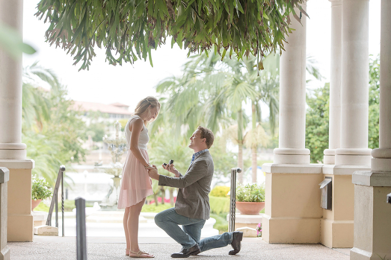 Tampa Bay Engagment Proposal |Tampa Wedding Photographer - Kristen Marie Photography