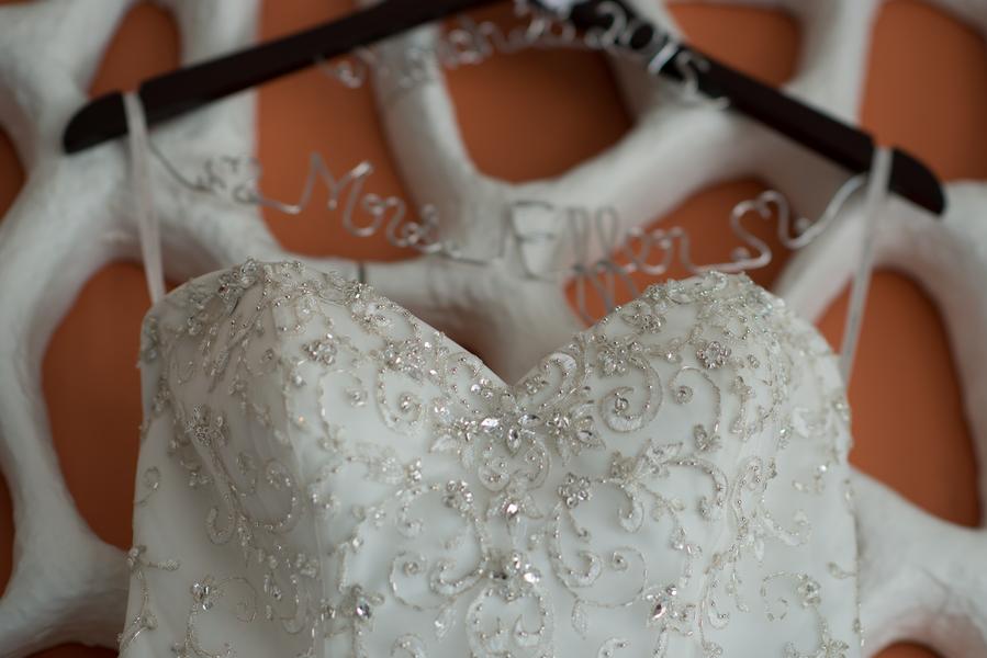 White Sweetheart Wedding Bridal Gown