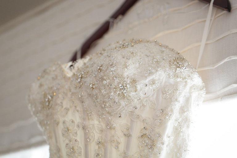 Kleinfeld Bridal Strapless Beaded Wedding Dress