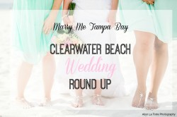 Clearwater Beach Wedding | Florida Beach Wedding Inspiration | Ailyn La Torre Photography
