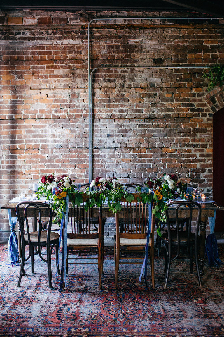 Best tampa bay modern industrial brick wedding venues cl space ybor tampa bay wedding venue with brick walls at ybor city creative loafing space cl space junglespirit Image collections