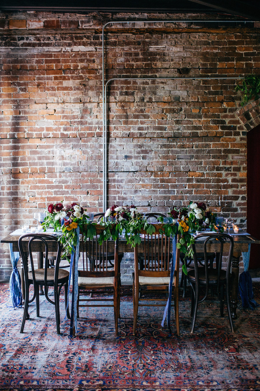 Tampa Bay Wedding Venue with Brick Walls at Ybor City Creative Loafing Space CL Space