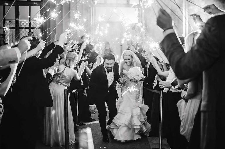 Wedding Exit Photo - Marc Edwards Photographs