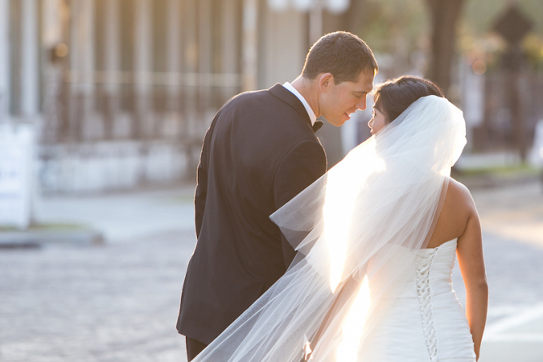 Bride and Groom Wedding Portrait Tampa Wedding Photographer   Carrie Wildes Photography
