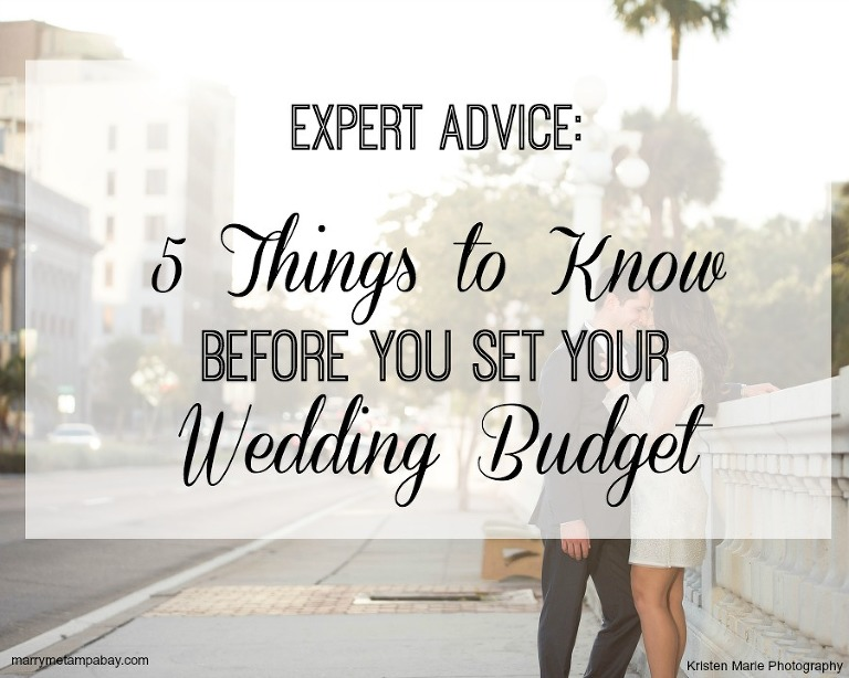 Expert Wedding Planning Advice: 5 Things Wedding Budget