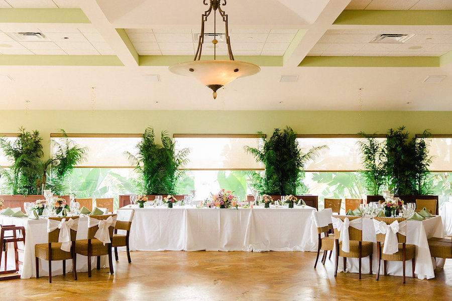 Indoor, Clearwater Beach Wedding Reception Island Way Grille | Ailyn La Torre Photography