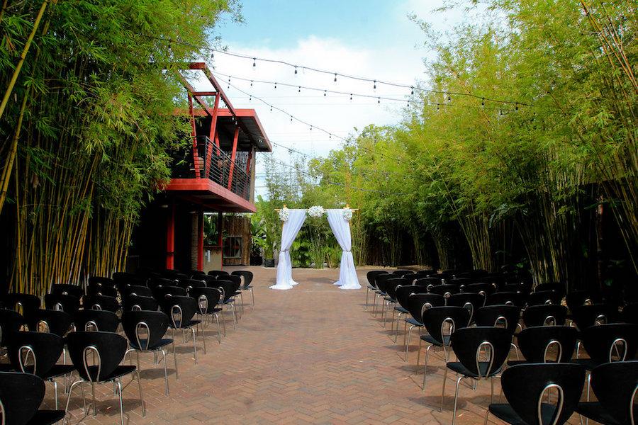 St. Petersburg Outdoor Wedding Ceremony at Downtown St. Pete Wedding Venue NOVA 535