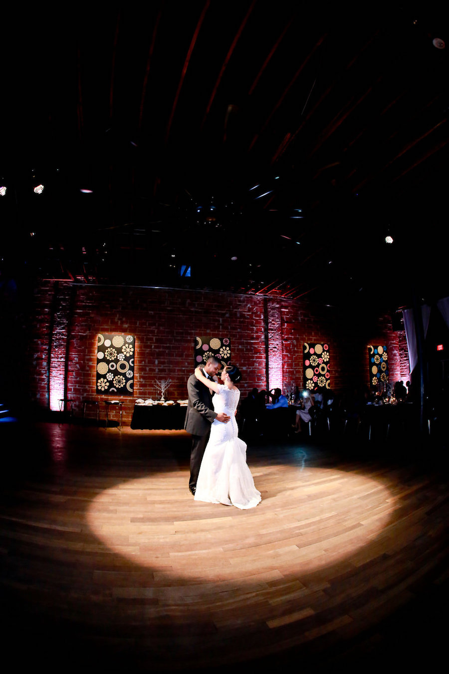 Bride and Groom St. Petersburg Wedding Reception First Dance at NOVA 535