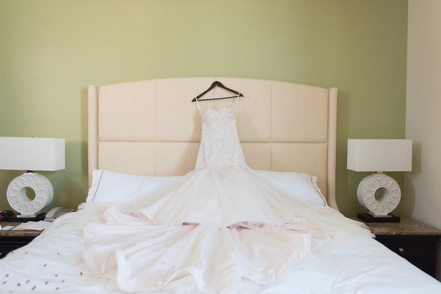Strapless Mermaid Wedding Gown by Essense of Australia at Tampa Bay Wedding Dress Shop CC's Bridal Boutique| Photo by Tampa Bay Wedding Photographer Kristen Marie Photography