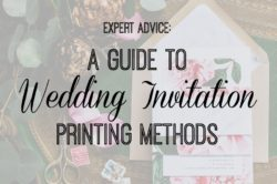 Expert Advice: A Guide to Wedding Invitation Printing Methods | Custom Tampa Bay Wedding Invitations and Stationery Citrus Press Co.