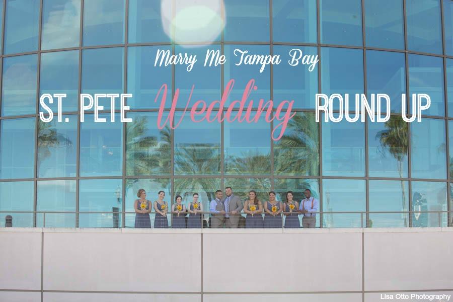 St. Pete Wedding Round Up | Real St. Petersburg Wedding Inspiriation