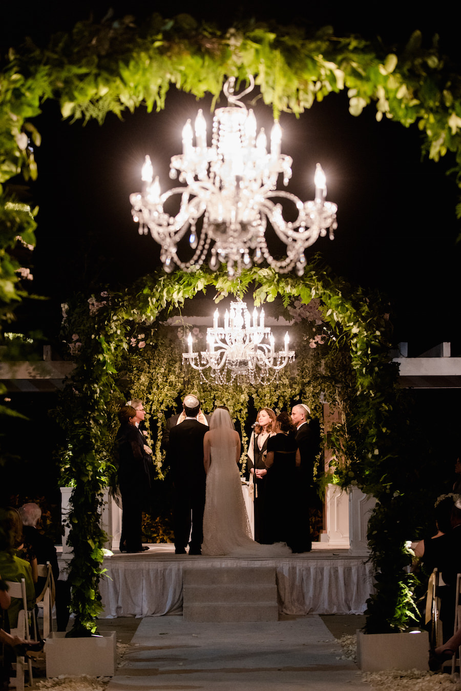 Downtown St Pete Ivory And Gold Vinoy Renaissance Wedding