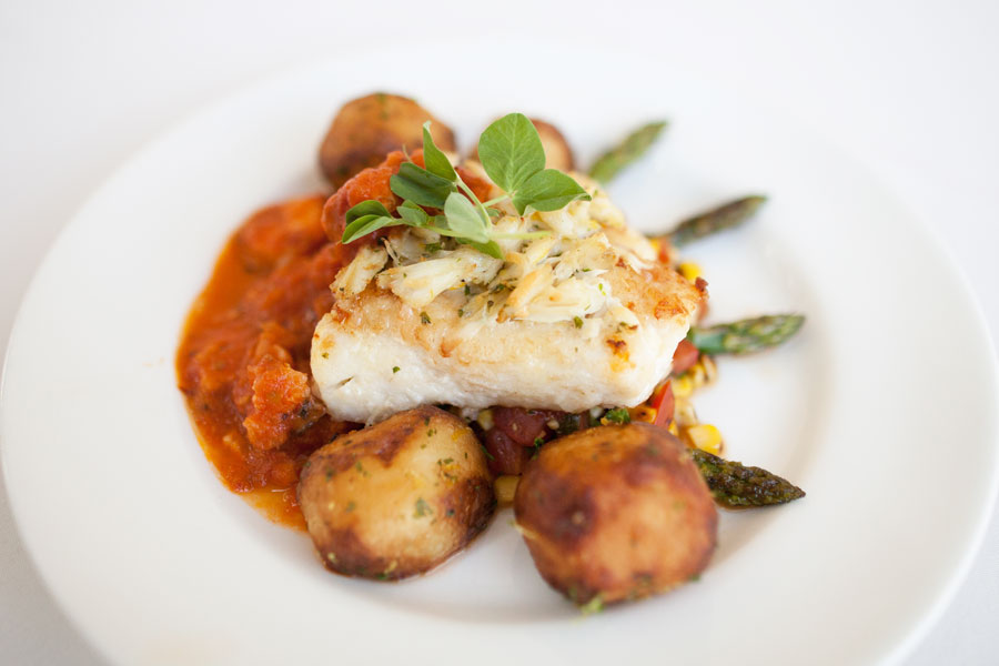 Grouper Wedding Meal| Tampa Bay Wedding & Event Caterer Olympia Catering & Events