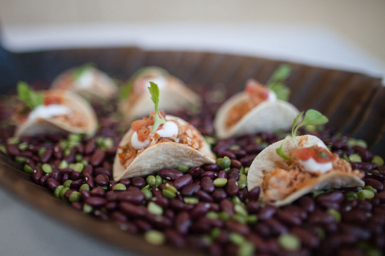 Gourmet Wedding Taco Appetizers |Tampa Bay Wedding & Event Caterer Olympia Catering & Events