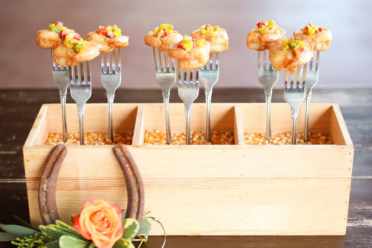 Shrimp Wedding Appetizer | Tampa Bay Wedding & Event Caterer Olympia Catering & Events