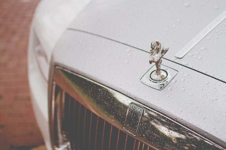 White Rolls Royce, Wedding Day Transportation