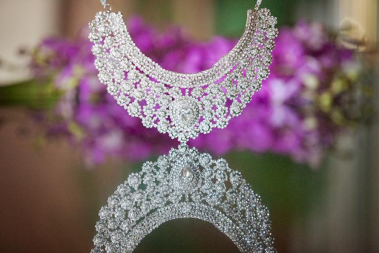 Crystal Rhinestone Diamond Necklace Wedding Jewelry