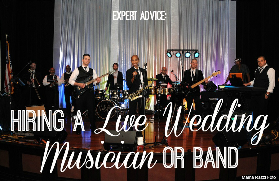 Wedding Planning Advice: Hiring a Live Band or Musician in Tampa Bay