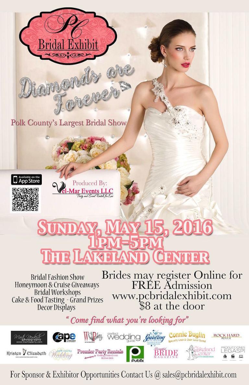 Polk County Bridal Show, PC Bridal Exhibit May 15, 2016