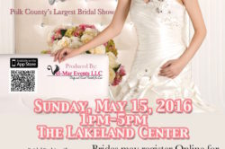 Polk County Bridal Show, PC Bridal Exhibit May 15, 2016